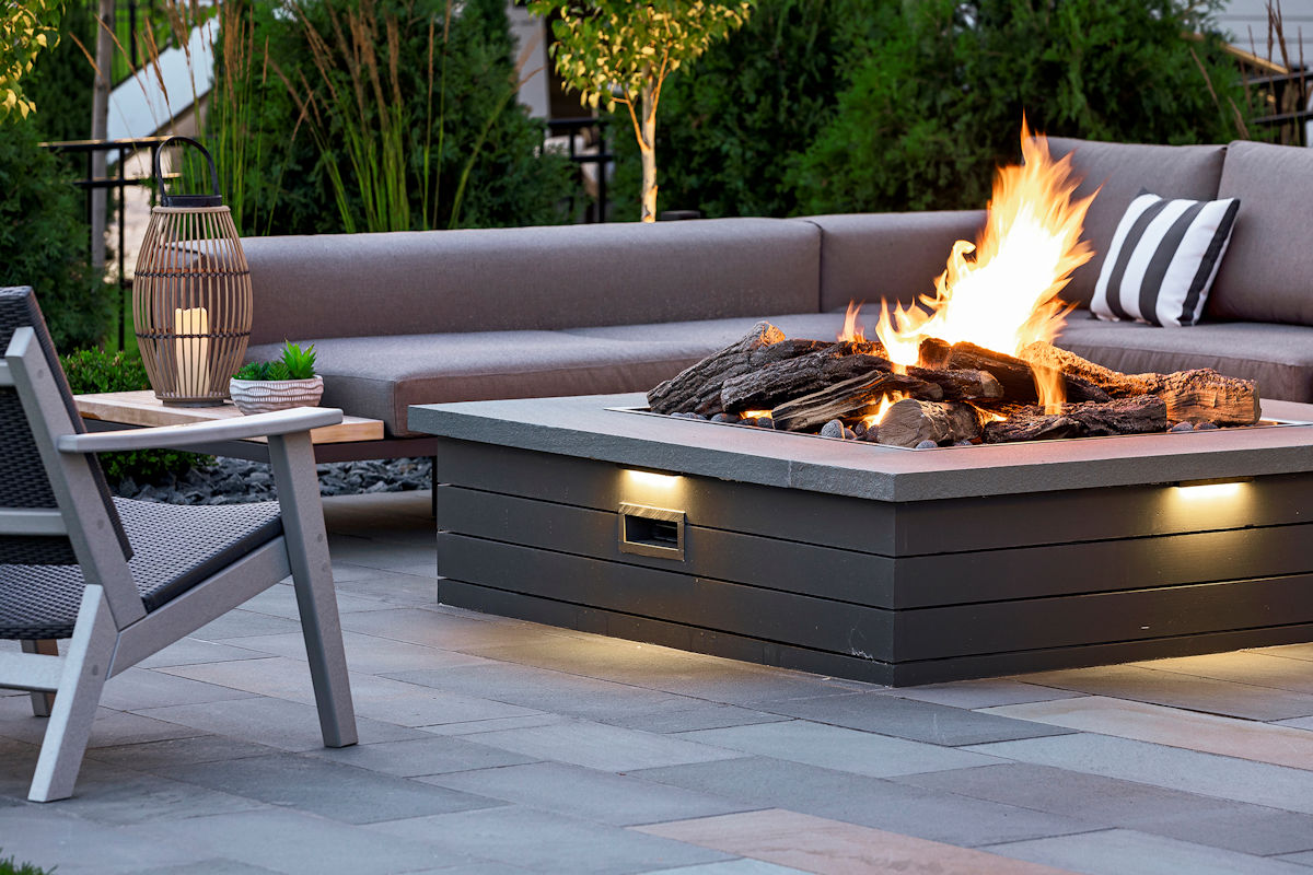 Family-Focused Fabulous firepit lighting by Livit Site + Structure