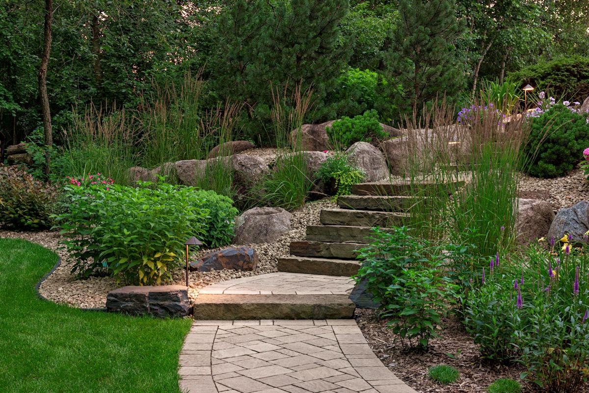 Livit Site + Structure Landscape Design - Shady Sanctuary